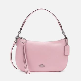Coach Women's Polished Pebble Leather Sutton Cross Body Bag - Aurora