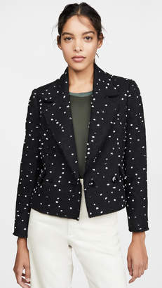 Rebecca Taylor Boucle Tweed Jacket
