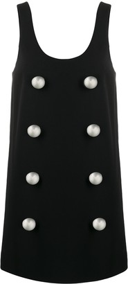 Balmain Buttoned Shift Dress