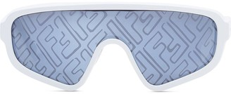Fendi x Joshua Vides Botanical shield sunglasses