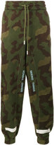 Off-White Diagonal camouflage track pants