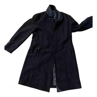 Armani Jeans Blue Wool Coats