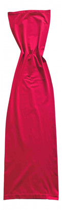Wolford Red Polyester Dresses