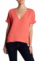 Cooper & Ella Holly Deep V-Neck Tee