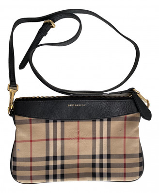 Burberry Beige Synthetic Clutch bags