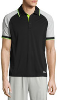 Fila Re-Flex Colorblock Polo Shirt, Black