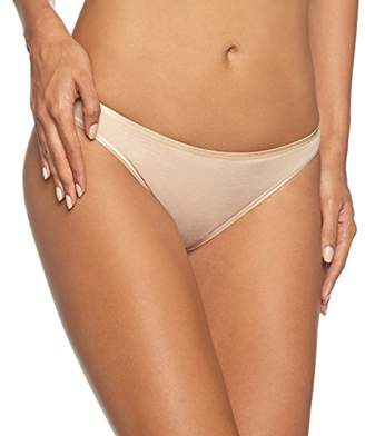 Hanro Women's Cotton Seamless Midi Slip Brazilian Knicker,18 (Size: Medium)