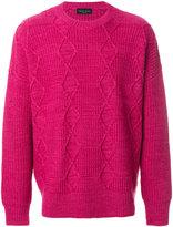 Roberto Collina classic knitted sweater - men - Wool - 46