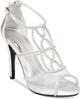Caparros Ellen Peep-Toe Evening Sandals