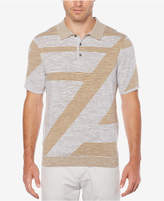 Perry Ellis Men's Geo Stripe Polo