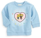 Gucci Infant Girl's Tiger Heart Print Sweatshirt