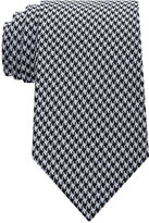 Sean John Men's Houndstooth Solid Tie