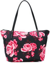 Kate Spade floral print tote bag - women - Leather/Polyester - One Size