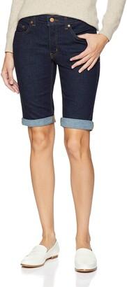 Dickies Women's Perfect Shape Denim Bermuda Shorts