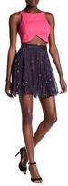 Haute Hippie Goodnight Night Pleated Silk Blend Skirt