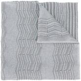 M Missoni knitted scarf - women - Cotton/Polyamide/Metallic Fibre - One Size