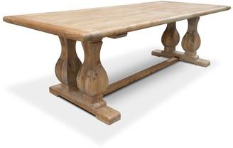 Calibre Furniture Double Pedestal Dining Table 300cm