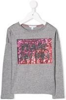 Little Marc Jacobs sequin logo T-shirt