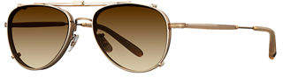 Garrett Leight Linnie Aviator Sunglasses