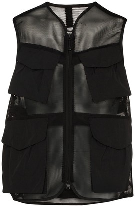 Snow Peak Multi-Pocket Mesh Vest