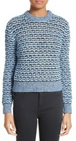 Carven Women's Open Knit Sweater
