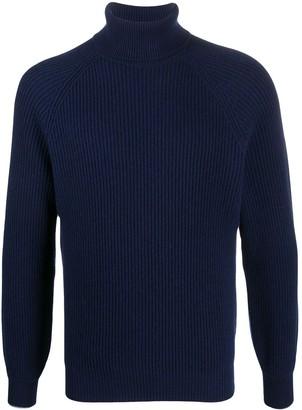 Brunello Cucinelli Ribbed Roll Neck Sweater
