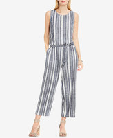 Vince Camuto TWO By Striped Cropped Jumpsuit