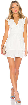 BCBGMAXAZRIA Tyrah Ruffle Mini Dress