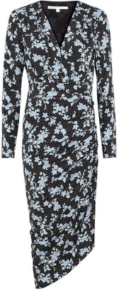 Veronica Beard Chana floral-print silk-blend midi dress