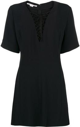 Stella McCartney Lace-Up Mini Dress