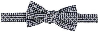 Lanvin Geometric Silk Bow Tie