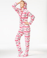 Hello Kitty Cute & Cozy Hooded Footed Jumpsuit