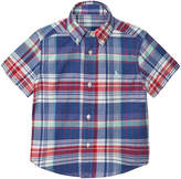 Ralph Lauren Blue and Red Madras Check Shirt