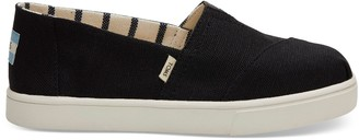 Toms Black Heritage Canvas Women's Cupsole Alpargatas Venice Collection