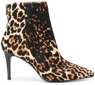 Zadig & Voltaire Courtney leopard-print ankle boots