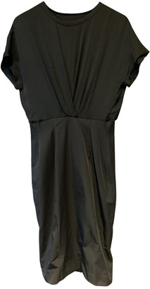 By Malene Birger Anthracite Silk Dresses