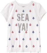 Crazy 8 Sparkle Sea Ya Tee