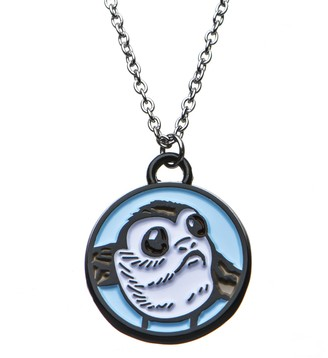 Star Wars Jewelry Women's Episode 8 PORG Enamel Pendant Necklace