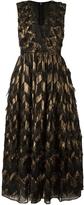 Dolce & Gabbana Jacquard Metallic Dress