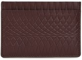 Paul Smith No.9 Burgundy Embossed Leather Card Holder