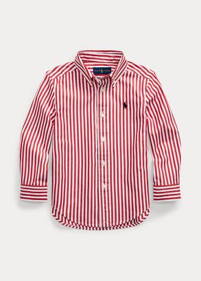 Ralph Lauren Striped Cotton Poplin Shirt