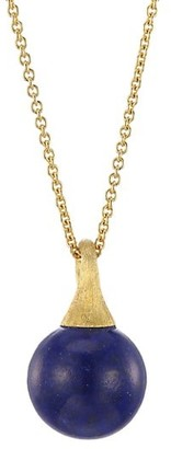 Marco Bicego Africa 18K Yellow Gold & Lapis Lazuli Pendant Necklace