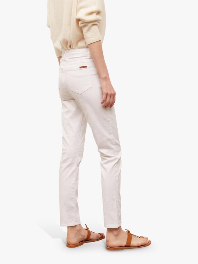 Thumbnail for your product : Gerard Darel Maya Slim Jeans, White
