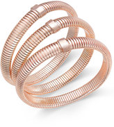 Thalia Sodi Rose Gold-Tone 3-Pc. Set Stretch Bangle Bracelet, Only at Macy's