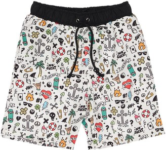 Yporqué Doodle Swim Shorts