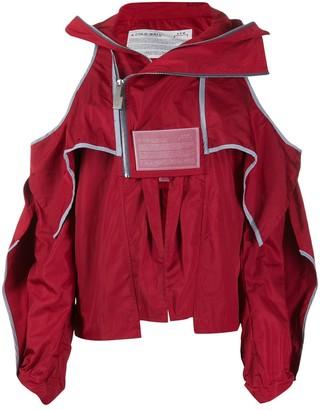 A-Cold-Wall* cold shoulder jacket