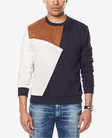 Sean John Men's Paneled Colorblocked Sweatshirt