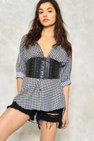 Nasty Gal nastygal Pull It Together Triple Corset Belt