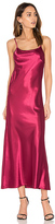 C&C California Erin Maxi Dress in Burgundy