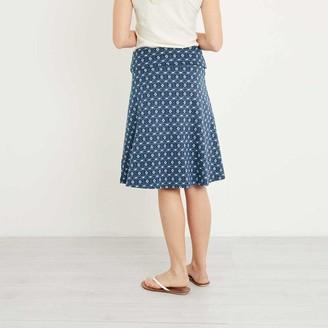 Weird Fish Women's Malmo Printed Jersey Skirt